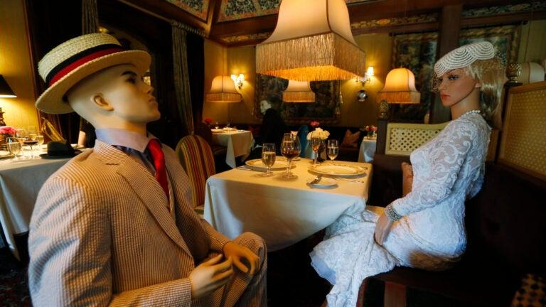 Mannequins at the Inn at Little Washington.