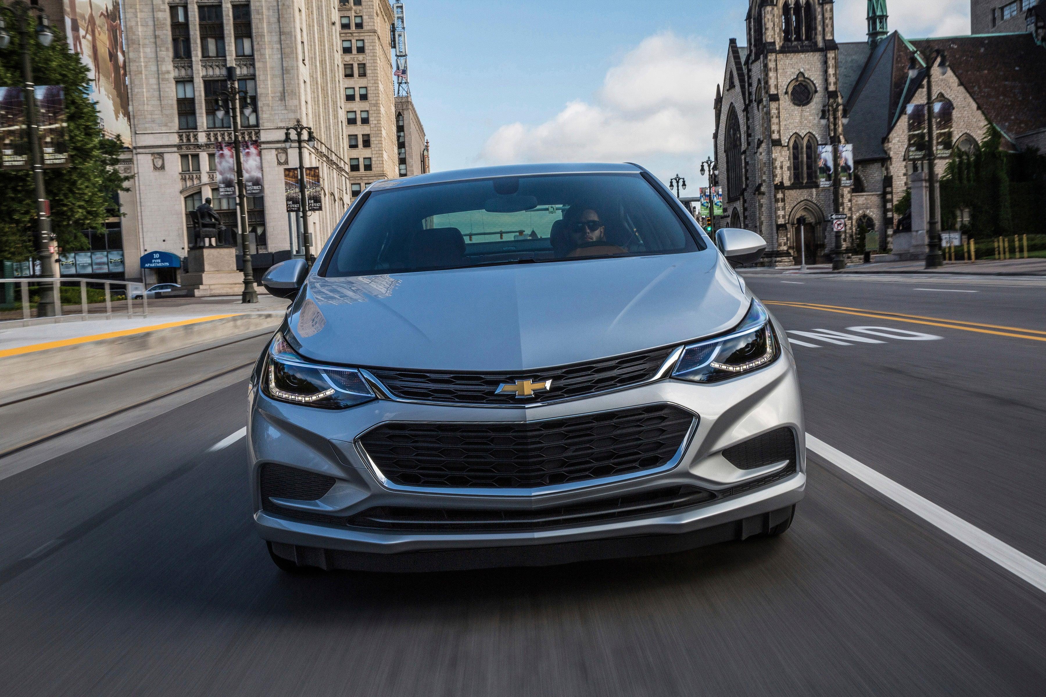 The 2017 Chevrolet Cruze.
