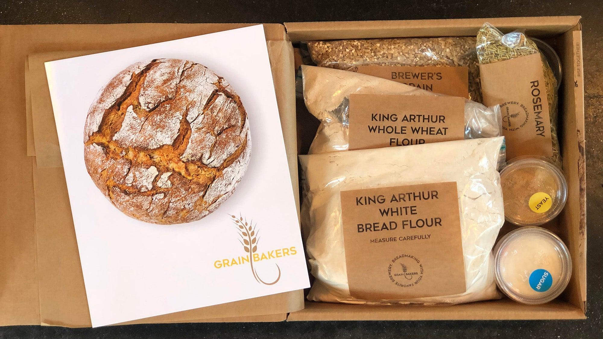 Bread kit from Grainbakers