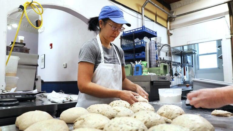 Daisy Chow at Breadboard Bakery