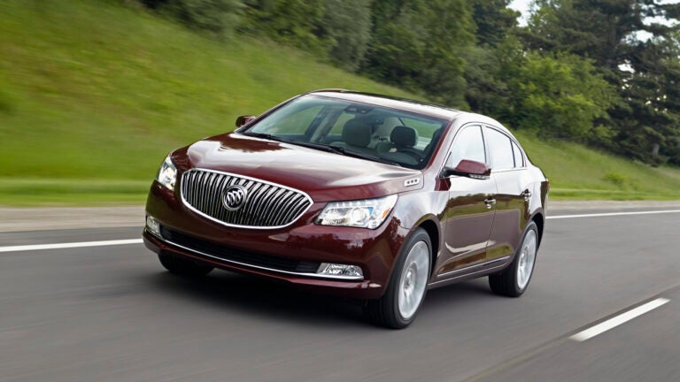 The 2016 Buick LaCrosse.
