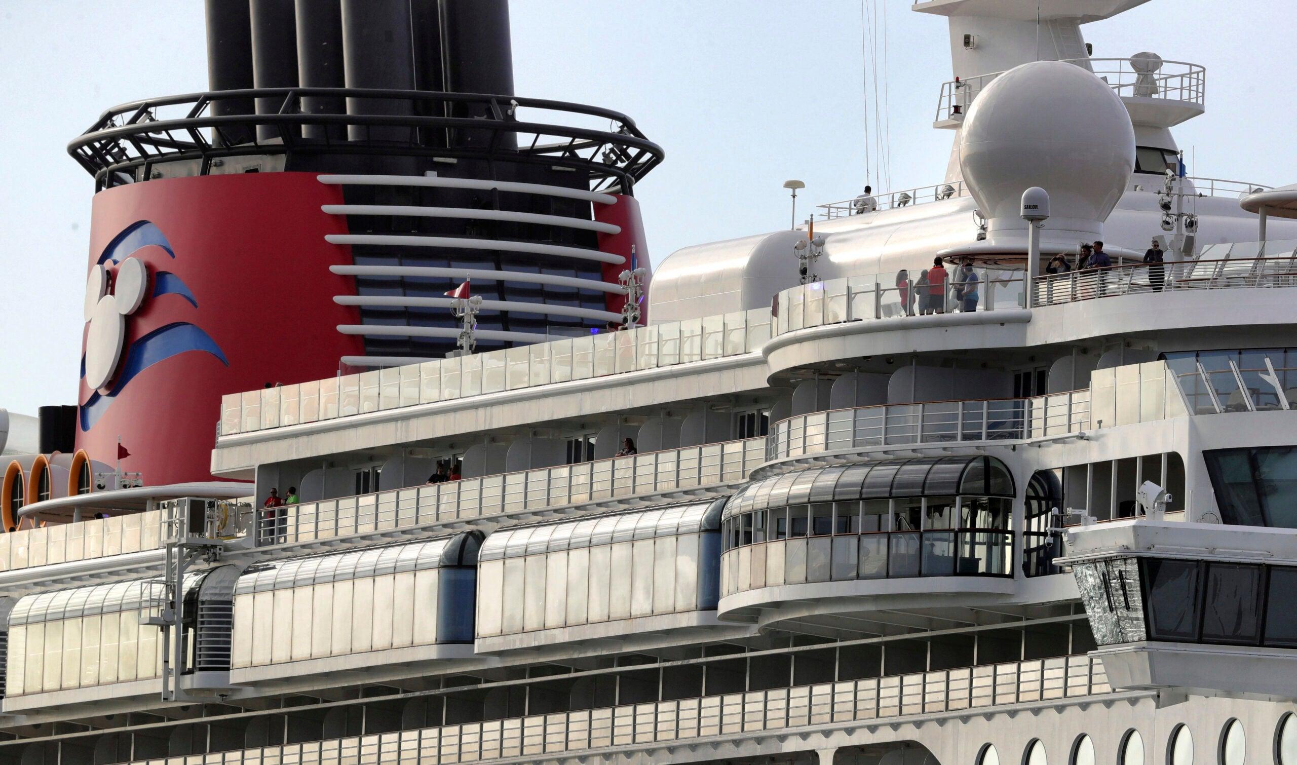 The Disney Dream departs Port Canaveral, Fla.