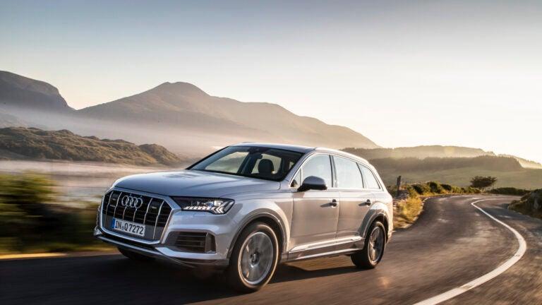 The 2020 Audi Q7.