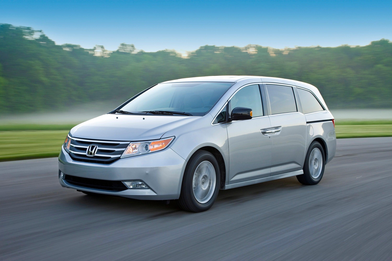 Honda Odyssey Touring Elite.