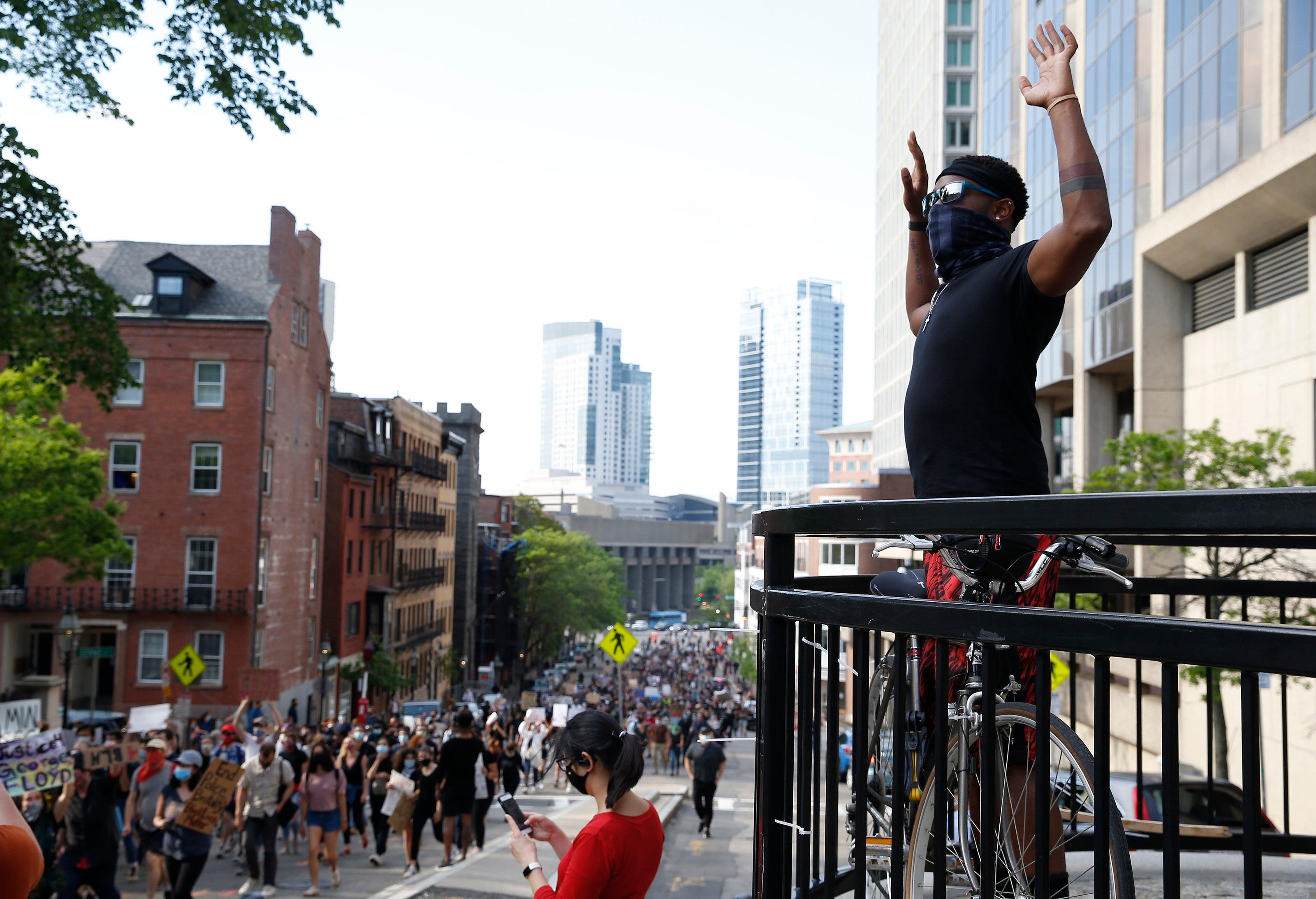 massachusetts protests