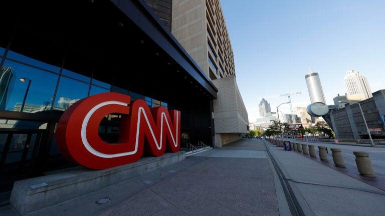 CNN Center in Atlanta, Georgia.