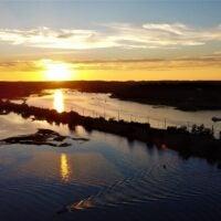 Annisquam River in Gloucester