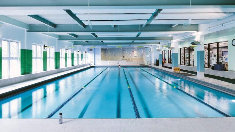 The Mount Auburn Club pool.