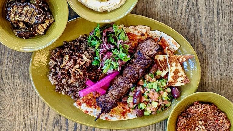 A Beirut Box dish from Anoush'ella