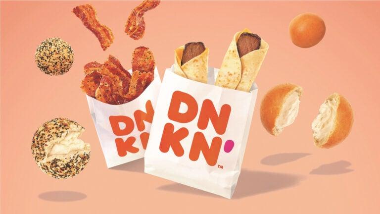 New snacks at Dunkin'