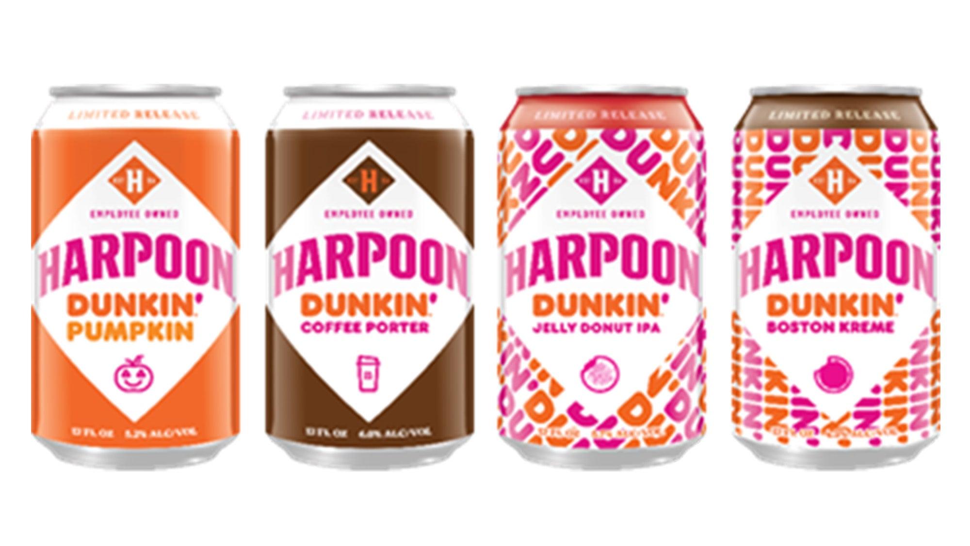 Harpoon Dunkin' fall beers