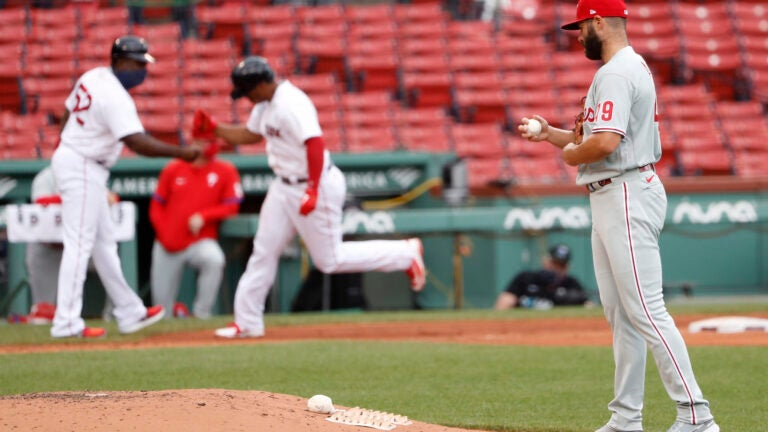 Phillies Red Sox Baseball