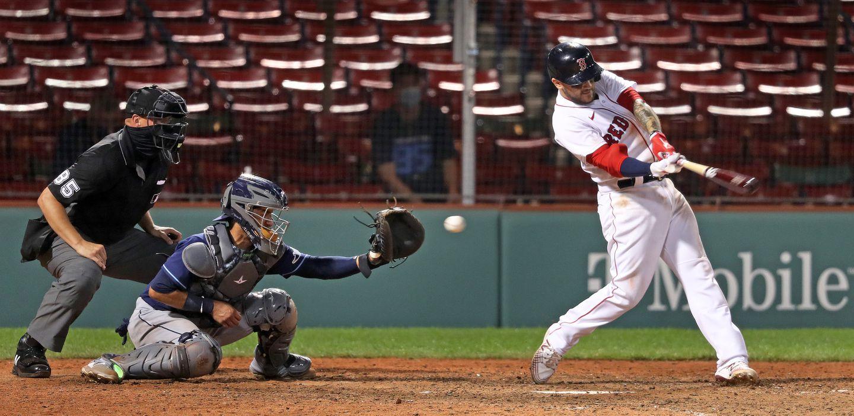 The Red Sox' Michael Chavis