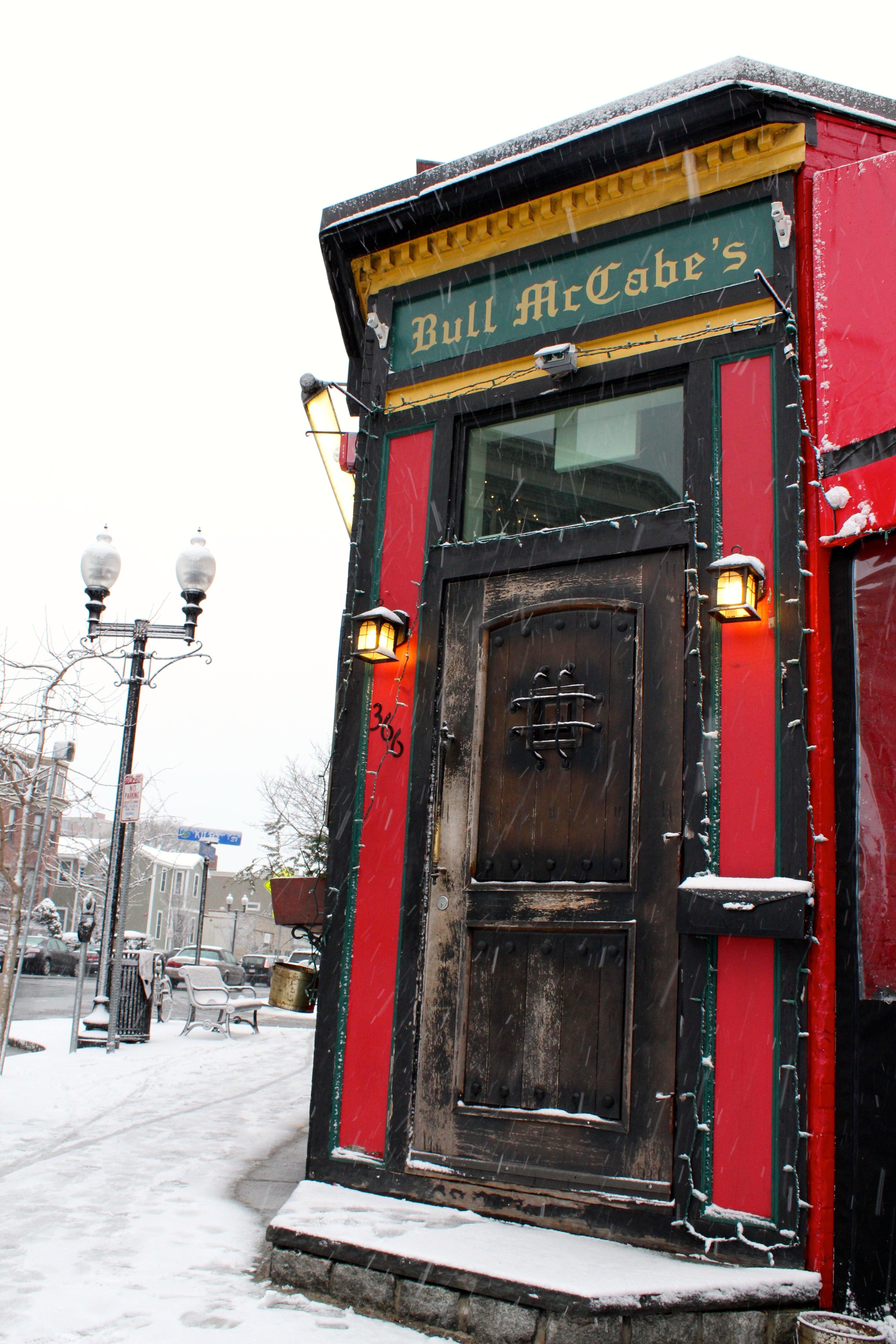 Bull McCabe's in Somerville.