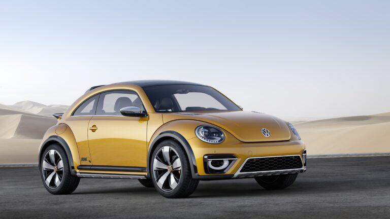 The 2014 Volkswagen Beetle Dune.