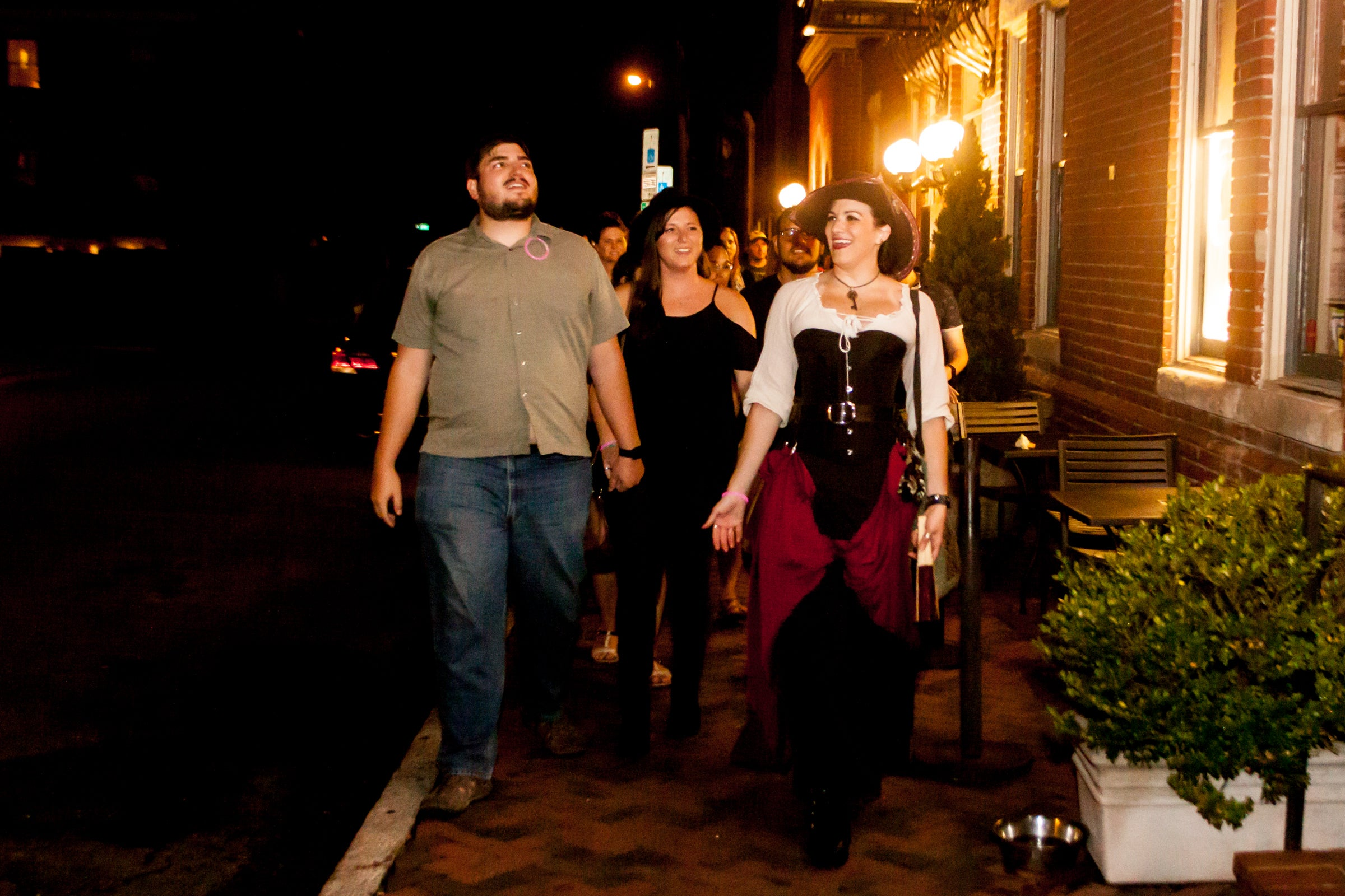 nightly spirits ghost tour