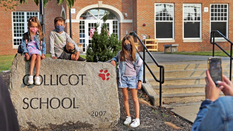 Collicot Elementary school in Milton.