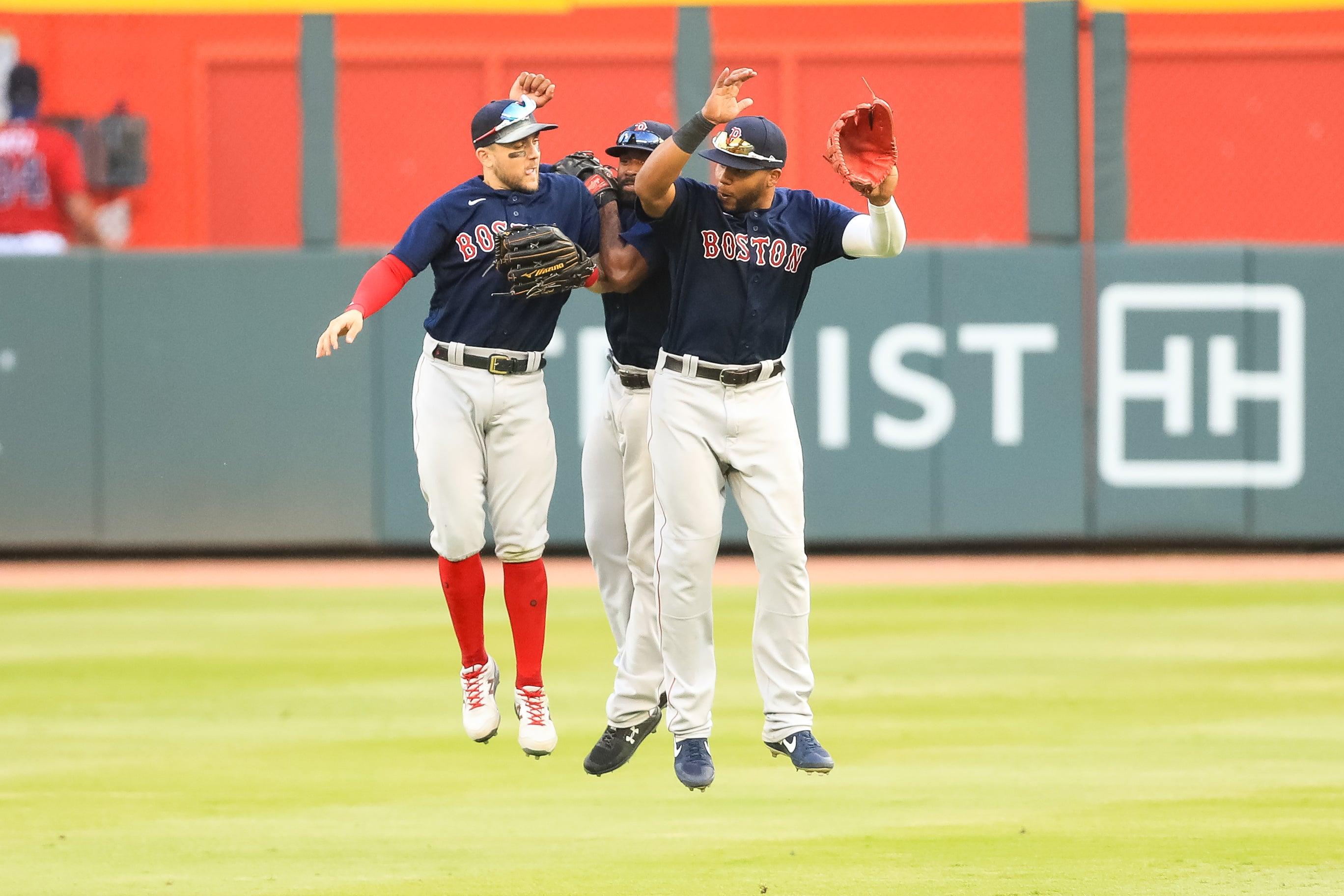 Red Sox Outfield Jackie Bradley Jr.