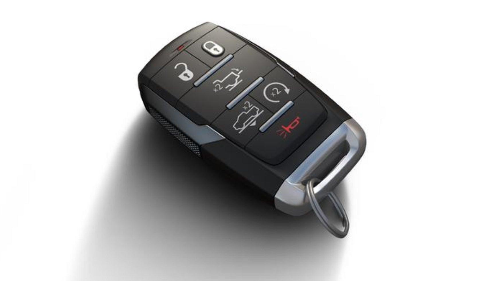 A Fiat-Chrysler Key Fob.