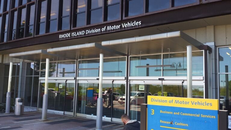 The Rhode Island Division of Motor Vehicles.