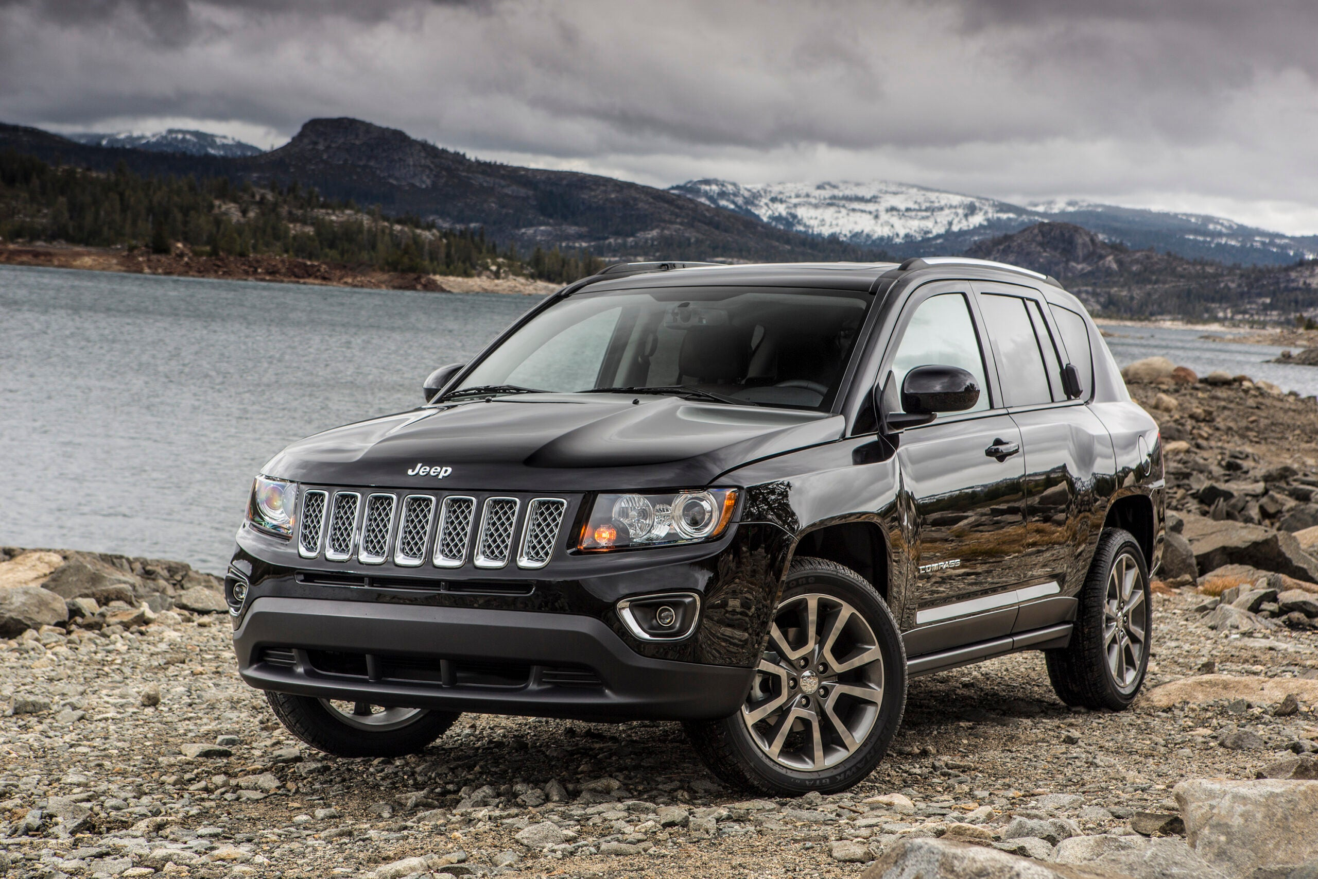 The 2016 Jeep Compass.