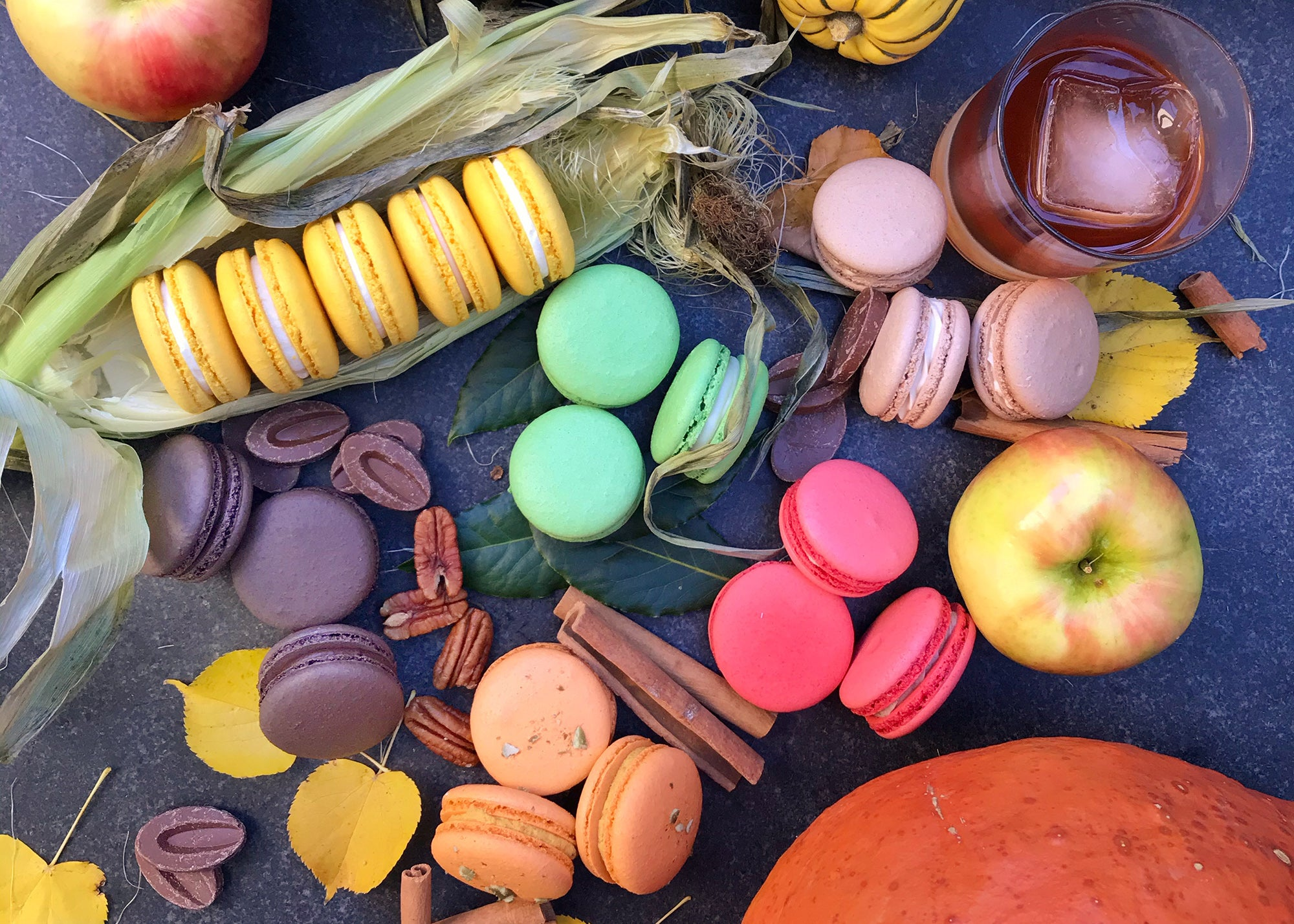 Macarons by Josh Ganache