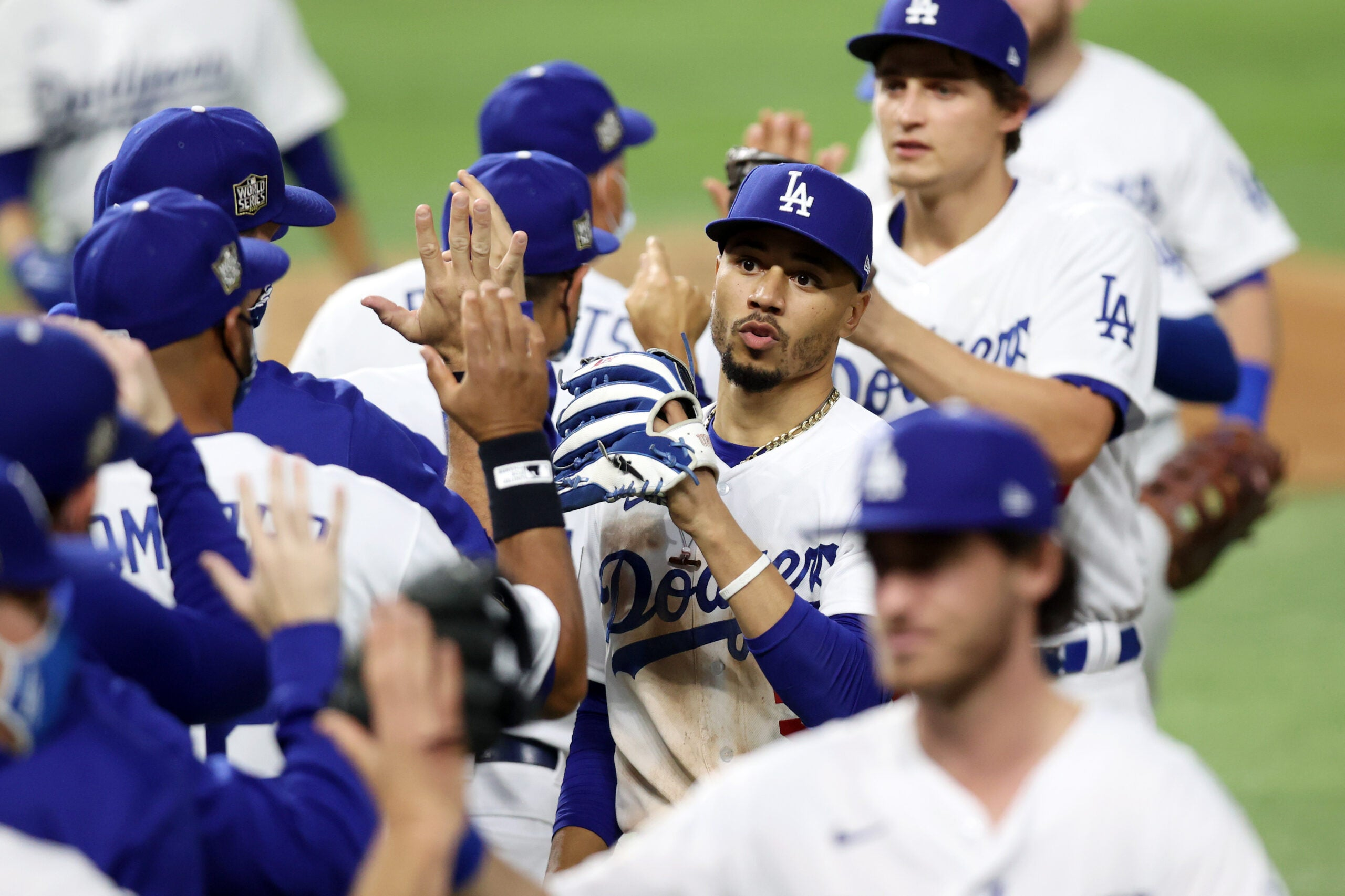 Mookie Betts Los Angeles Dodgers