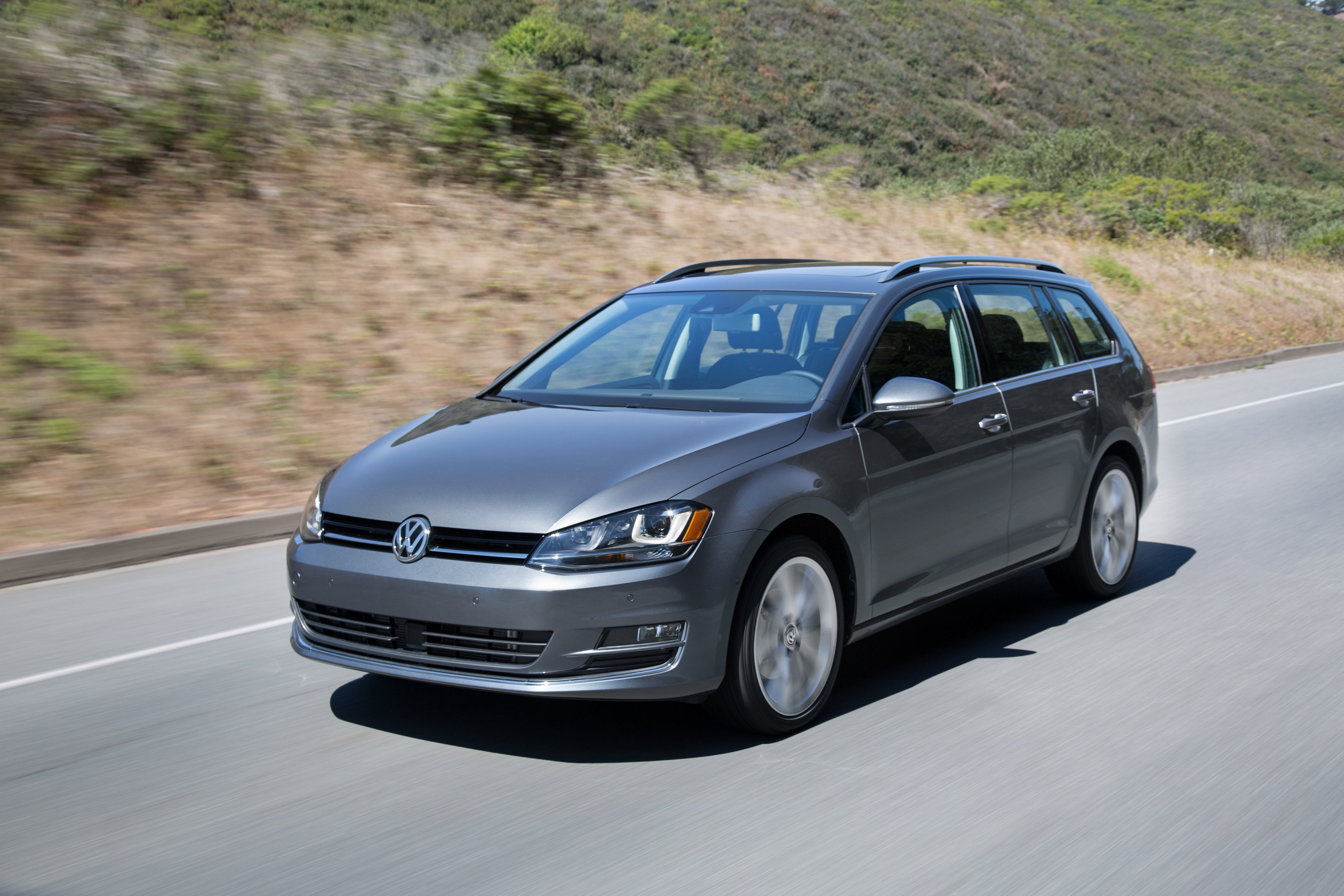 The 2016 Volkswagen Golf SportWagen.