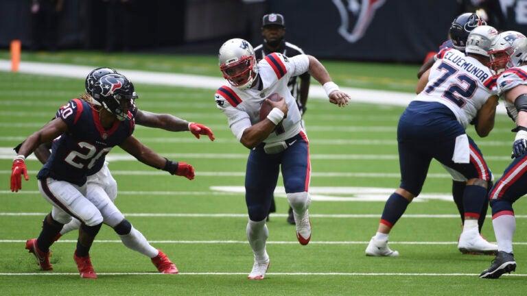 Cam Newton Patriots Texans