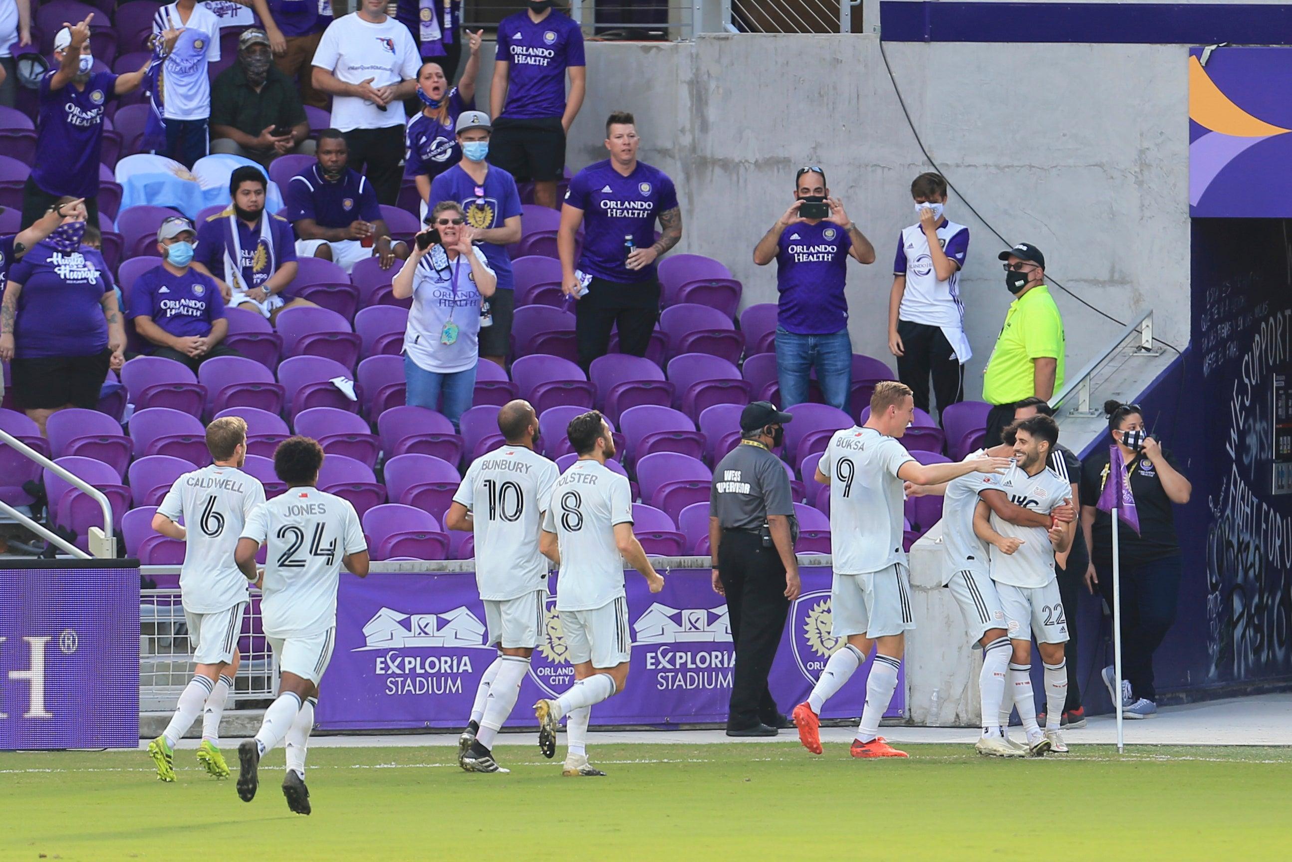 Revolution goal Orlando City