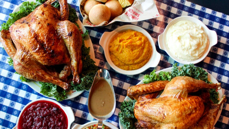 Thanksgiving takeout at Summer Shack