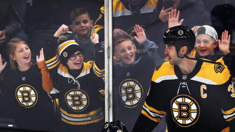 Zdeno Chara Bruins Captain