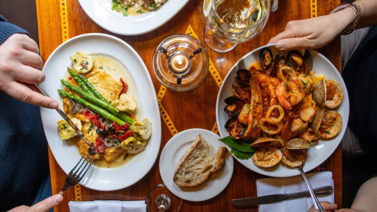 Feast of the Seven Fishes at Lucia's Ristorante