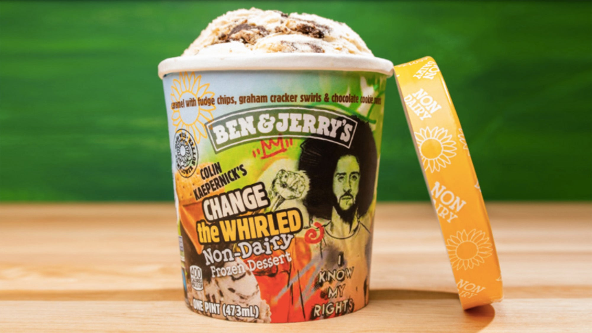 Change the Whirled from Ben & Jerry's