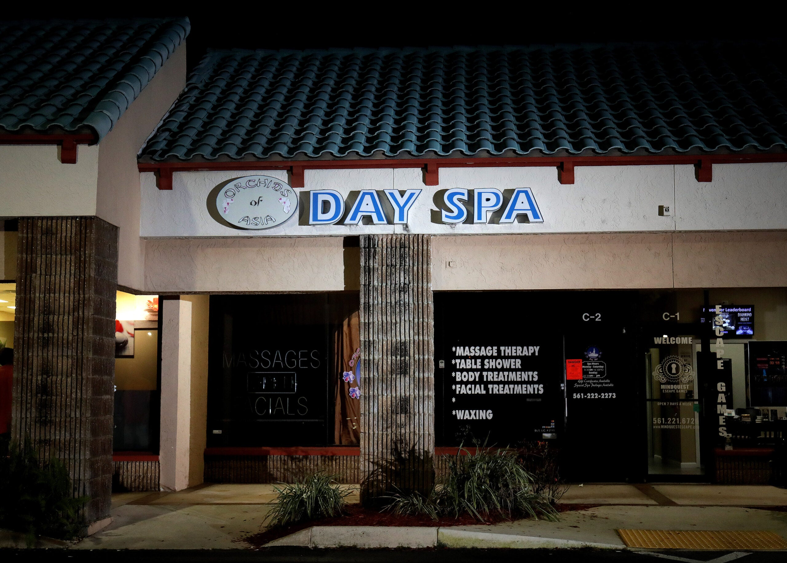 The Orchids of Asia Day Spa in Jupiter, Florida.