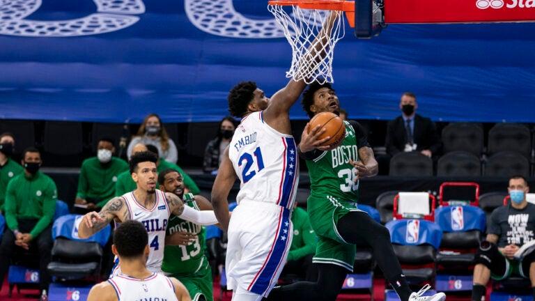 Celtics 76ers Smart Embiid
