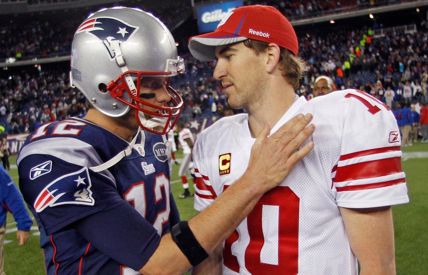 Tom Brady Eli Manning