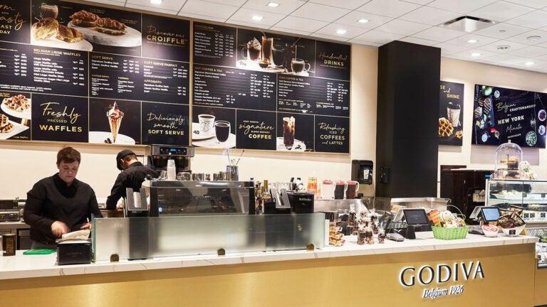 A Godiva cafe