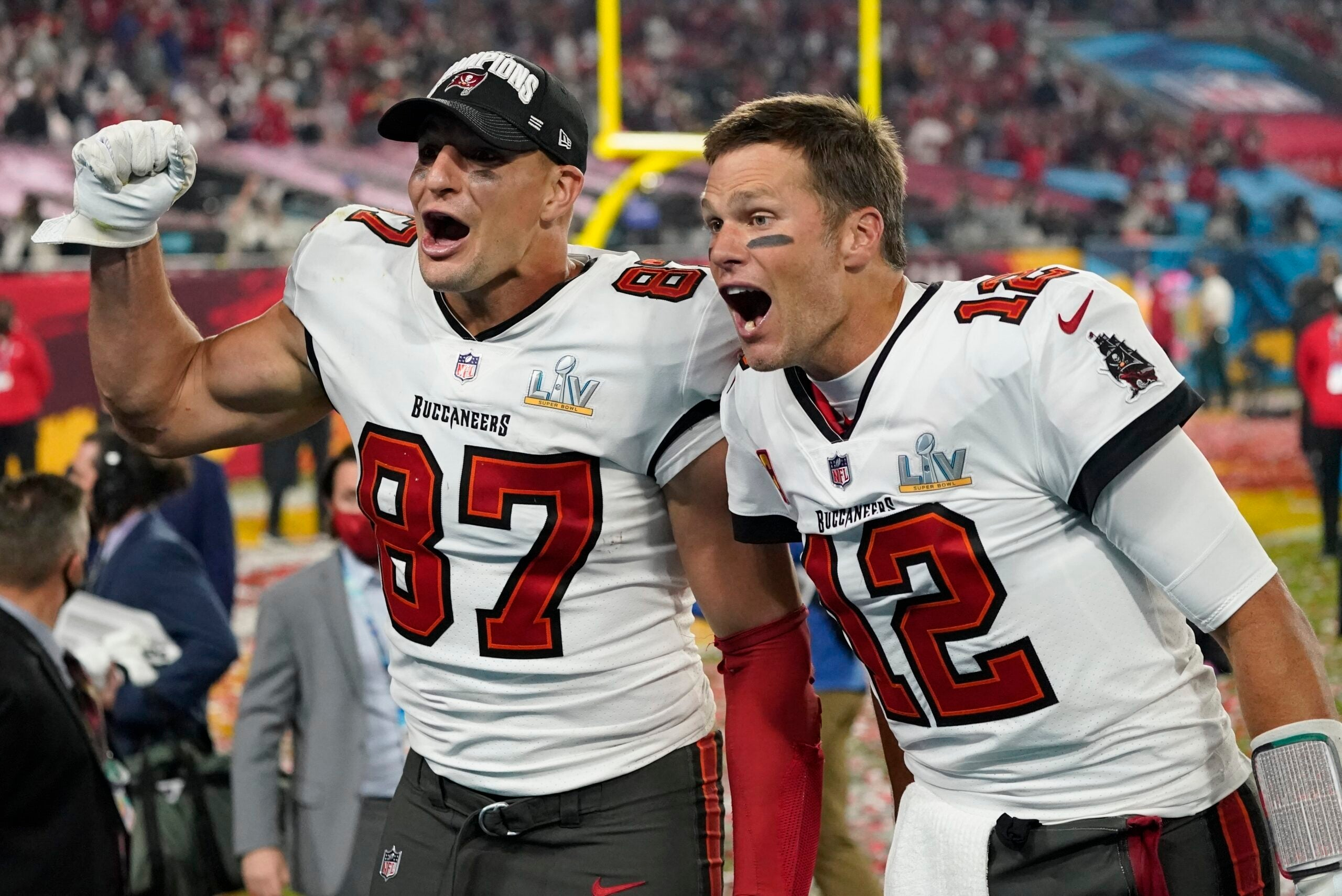 Rob Gronkowski calls Super Bowl LV victory with Tom Brady 'one of ...