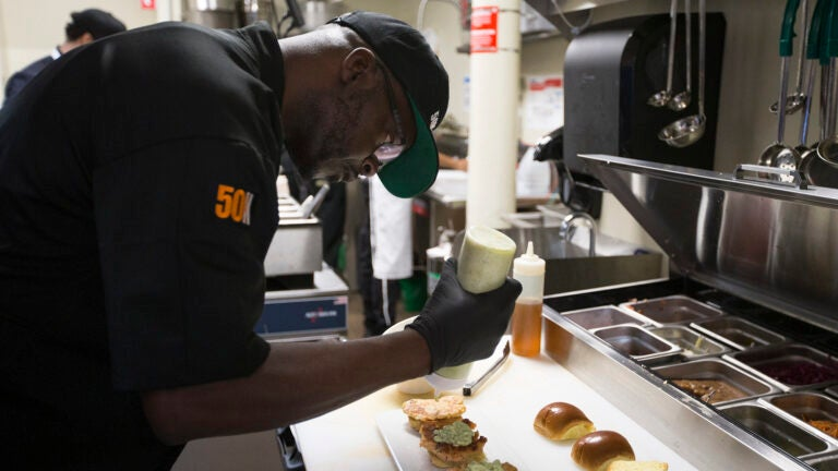 Anthony Caldwell, owner and executive chef at 50Kitchen