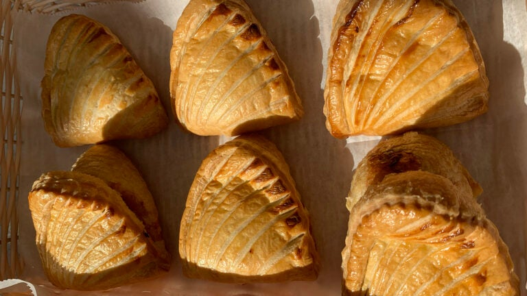 Apple turnovers at Colette