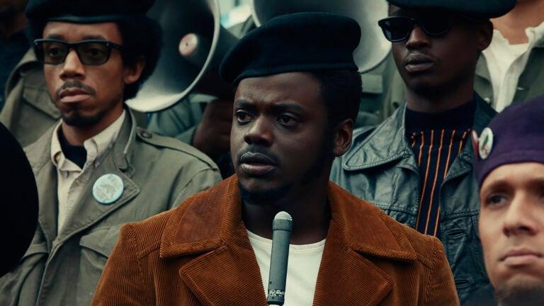 "Daniel Kaluuya in ""Judas and the Black Messiah."""