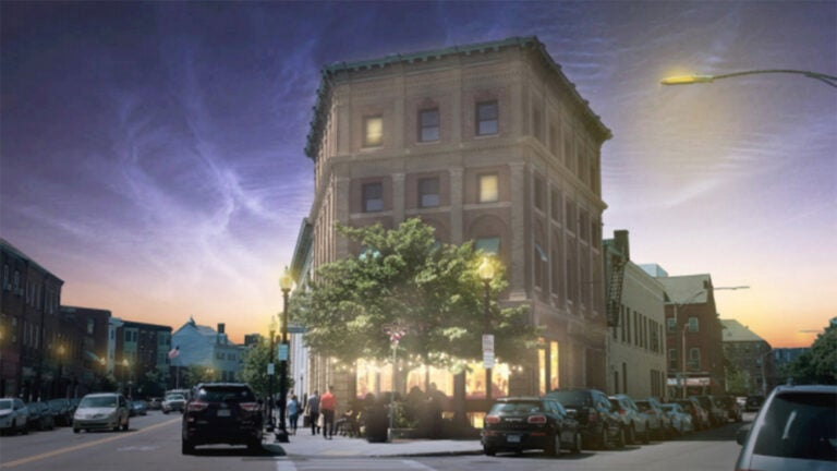 Rendering of Kennedy Cafe