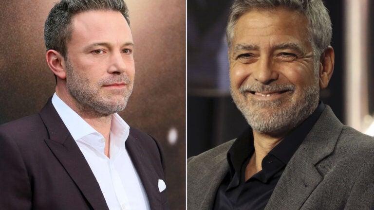 George Clooney Ben Affleck The Tender Bar