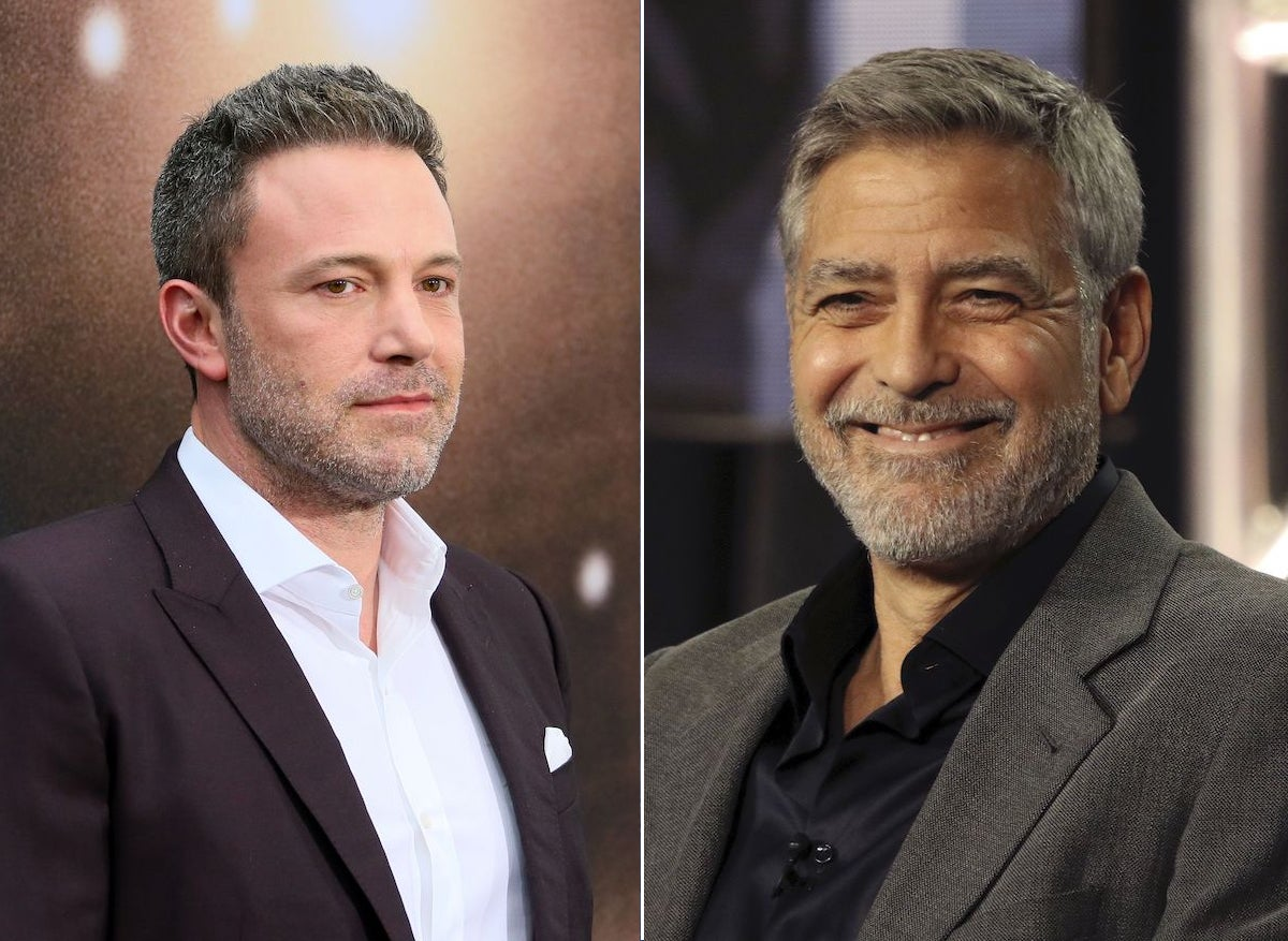 George Clooney Ben Affleck The Tender Bar