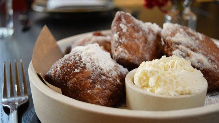 Buttermilk beignets at Buttermilk & Bourbon