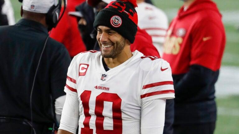 Jimmy Garoppolo 49ers Patriots trade