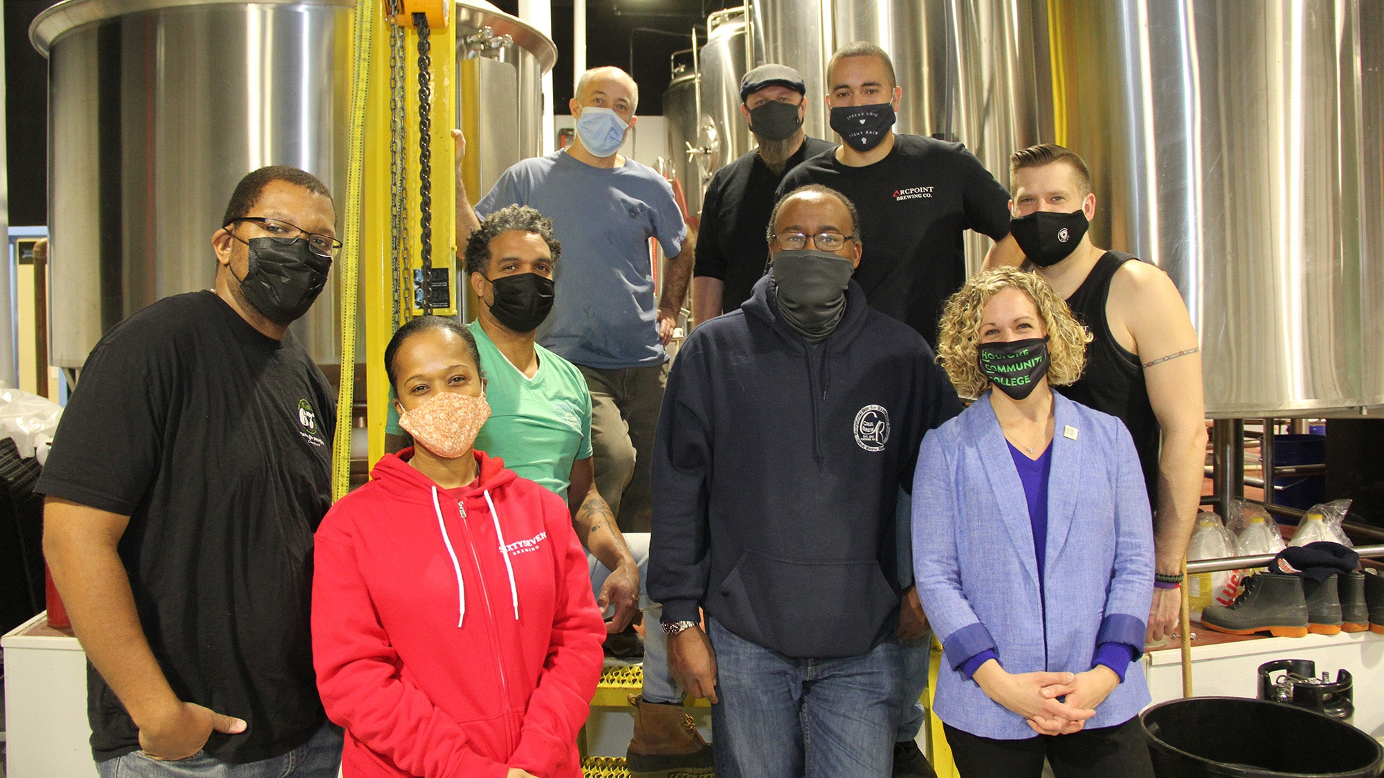 "Brewers joined together to brew ""As One"""
