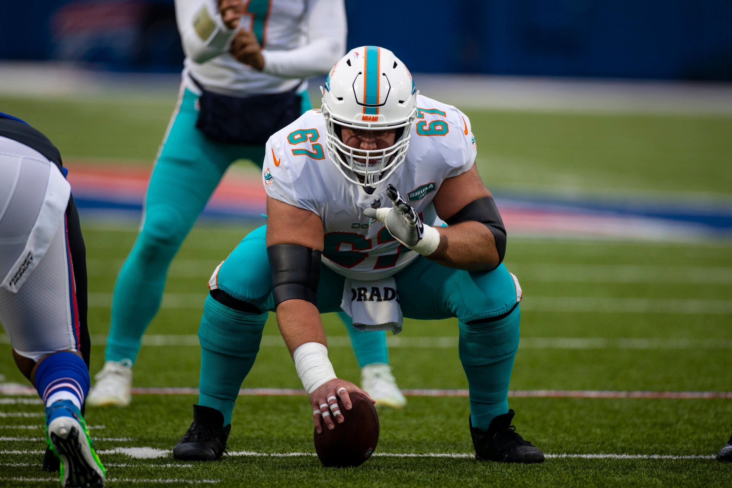 Ted Karras Patriots Dolphins