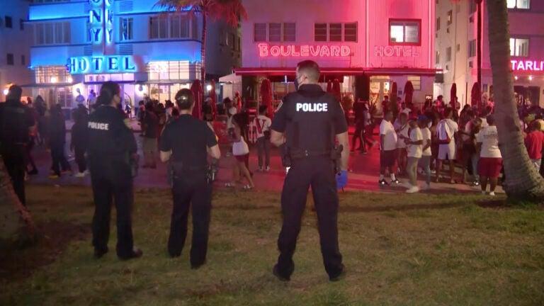 Spring Break Miami Curfew